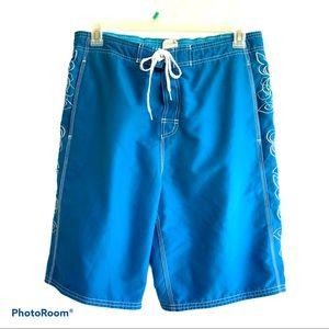 Speedo size Large swim trunk Knee length style.